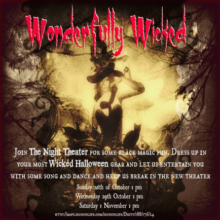 Wonderfully Wicked Show Poster